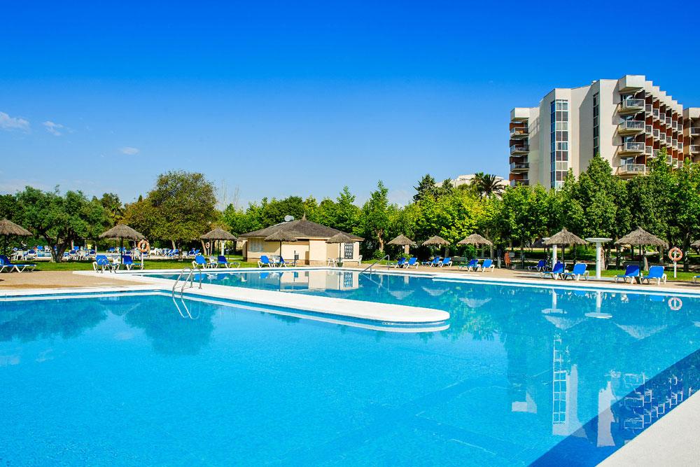 piscinas hotel complejo san juan alicante